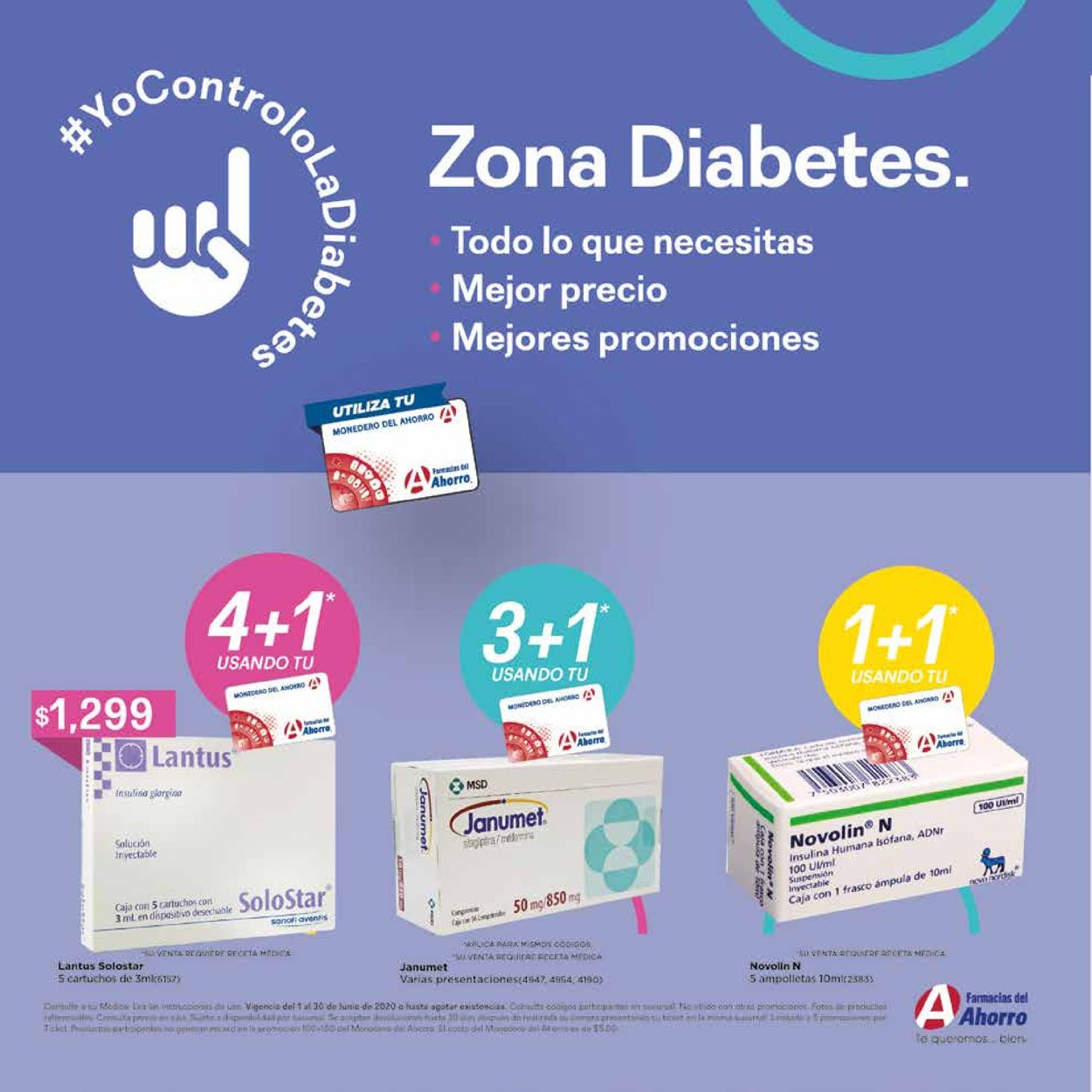 Farmacias del Ahorro Folleto - 01.06-30.06.2020