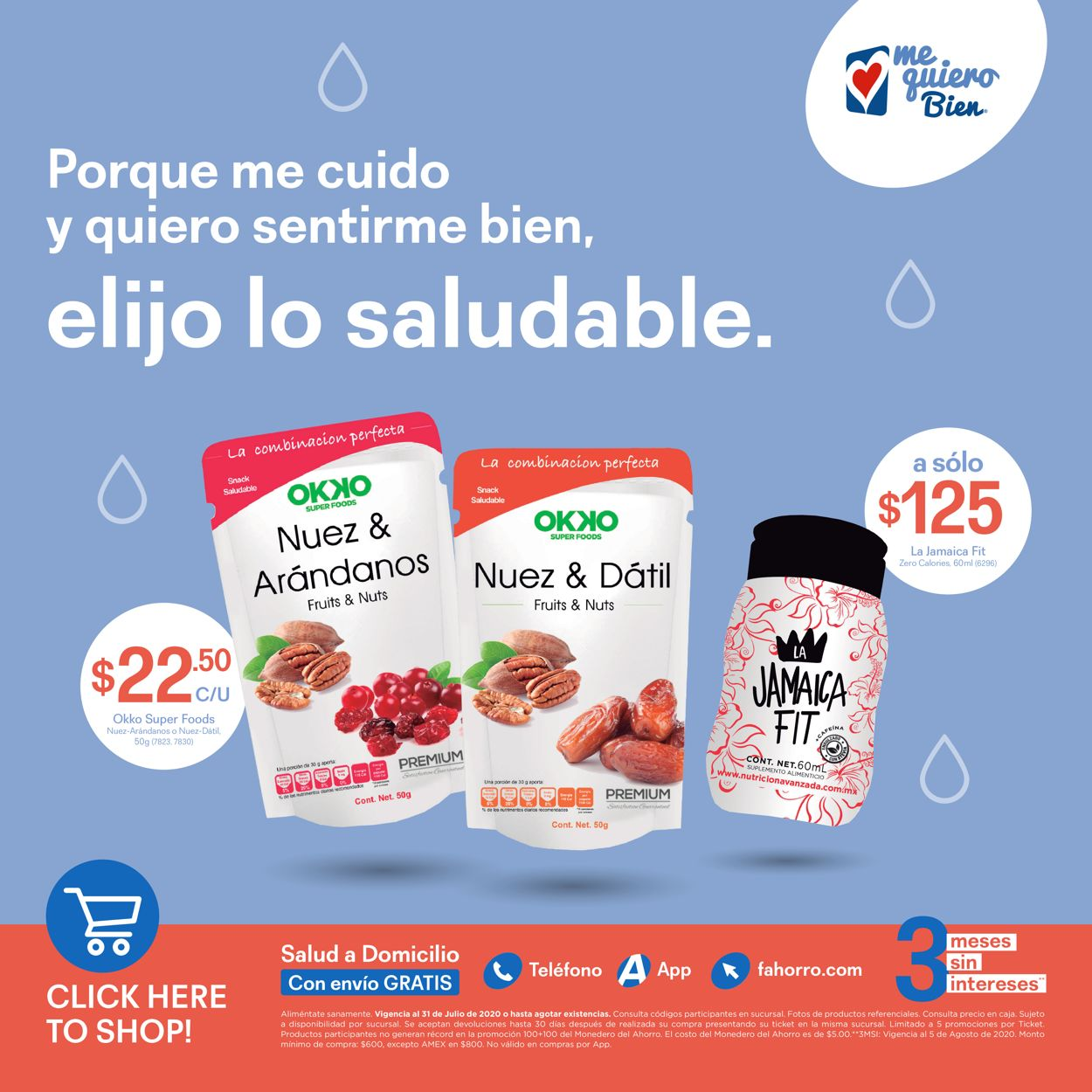 Farmacias del Ahorro Folleto - 10.07-31.07.2020