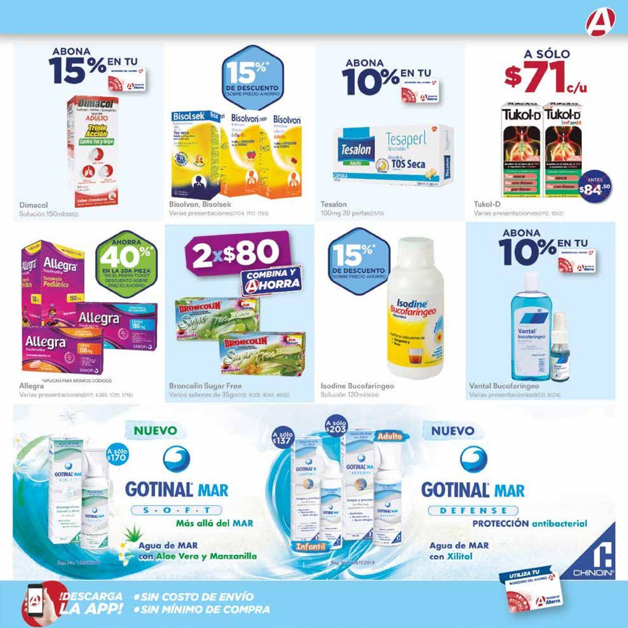 Farmacias del Ahorro Folleto - 01.10-31.10.2020 (Página 5)