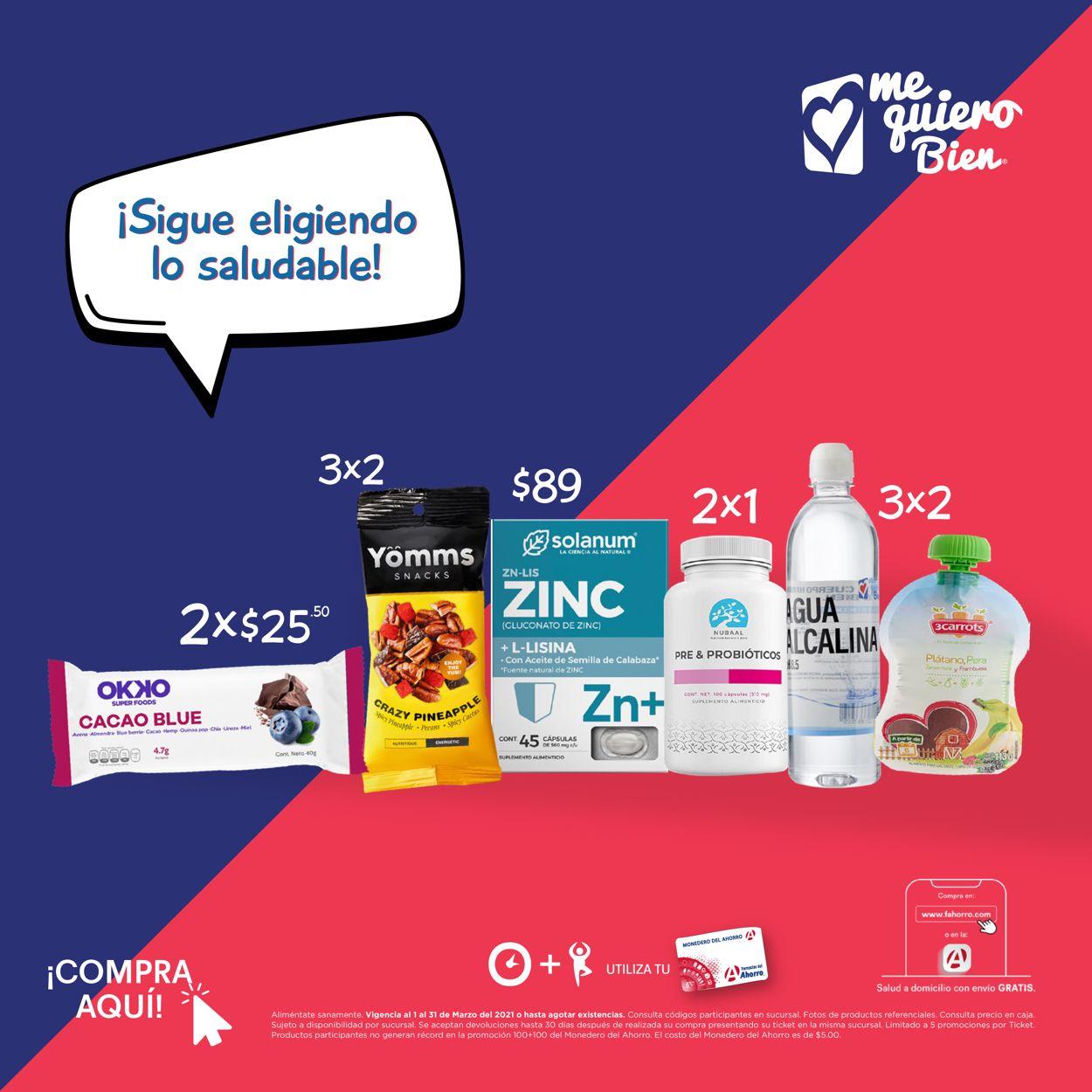 Farmacias del Ahorro Folleto - 01.03-31.03.2021