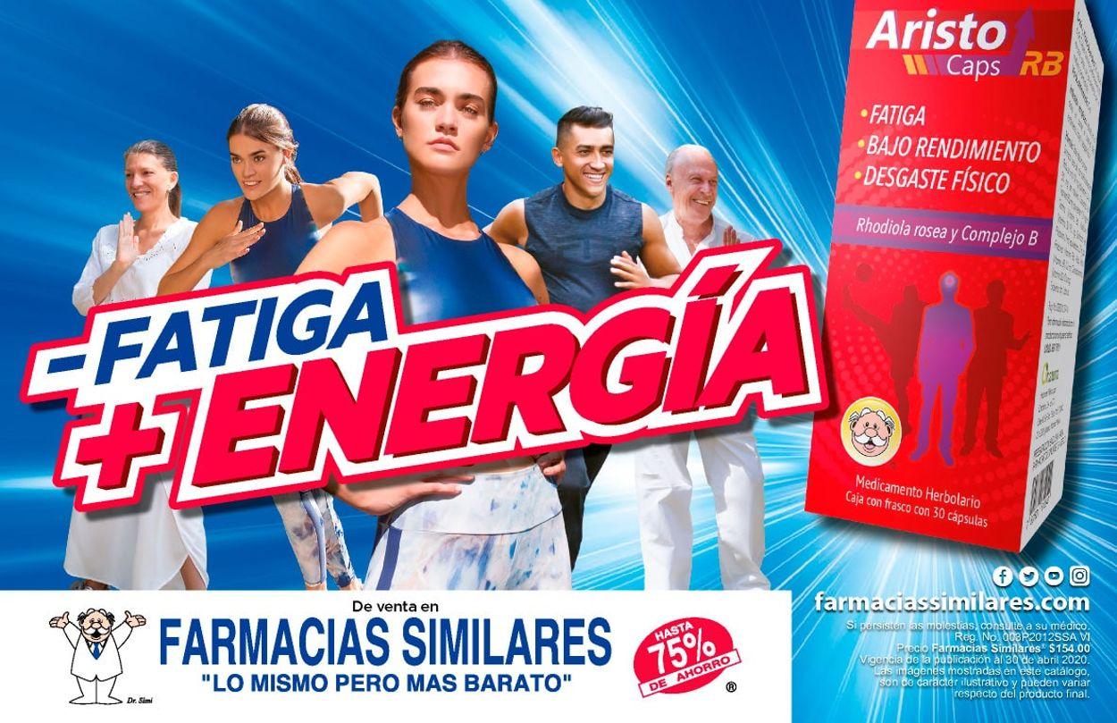 Farmacias Similares Folleto - 15.04-30.04.2020