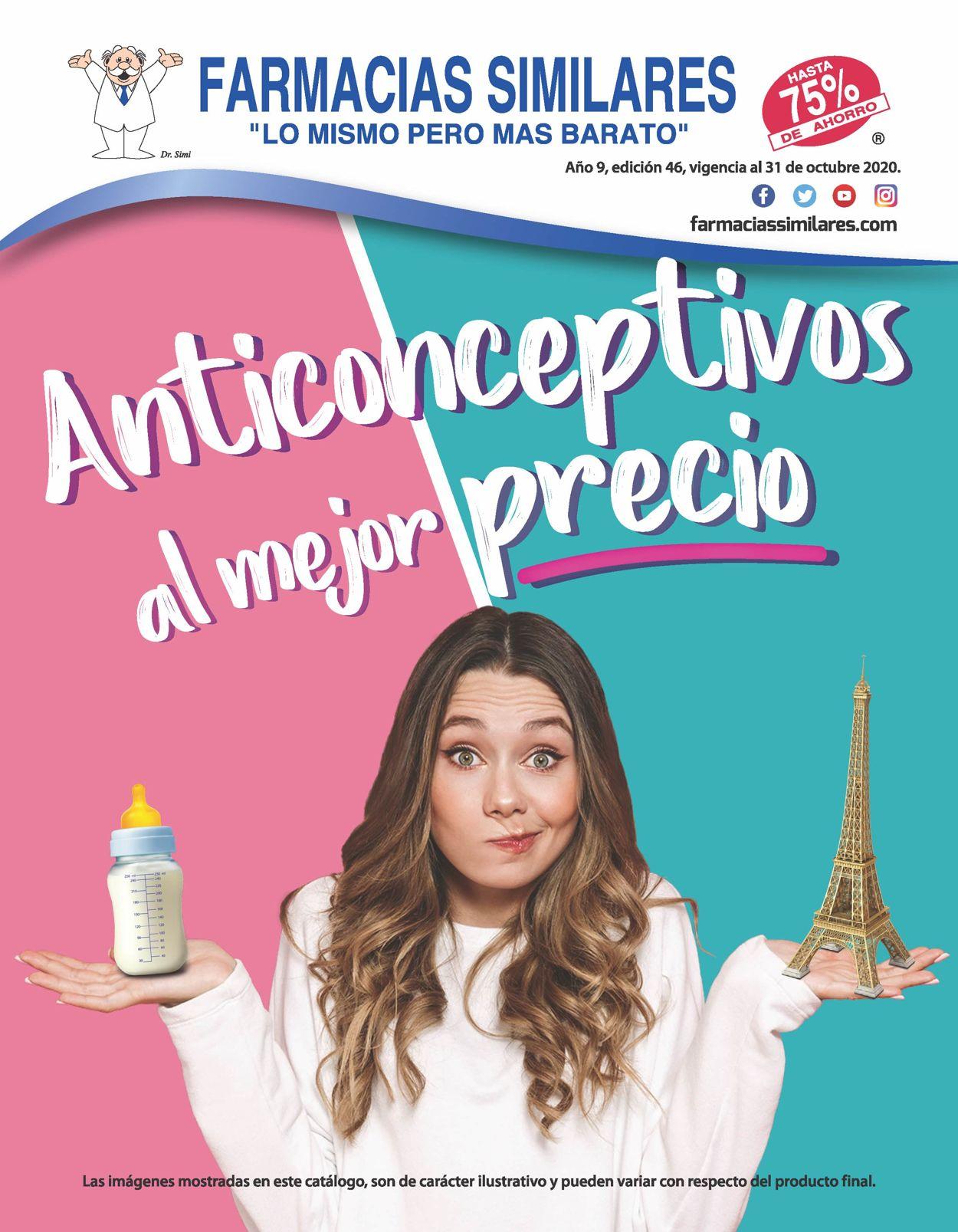 Farmacias Similares Folleto - 02.09-31.10.2020