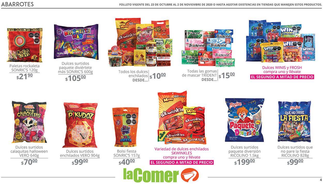 La Comer Folleto - 23.10-02.11.2020 (Página 4)