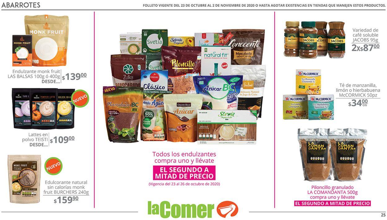 La Comer Folleto - 23.10-02.11.2020 (Página 25)
