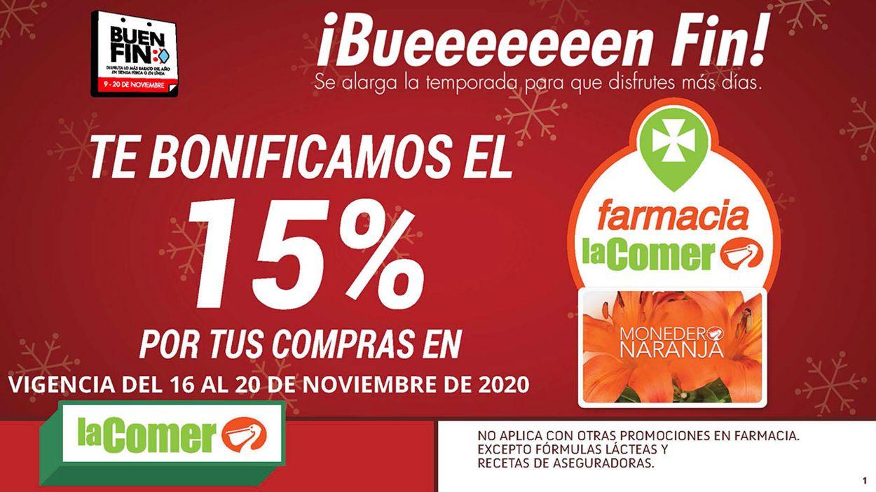 La Comer Folleto - 16.11-20.11.2020