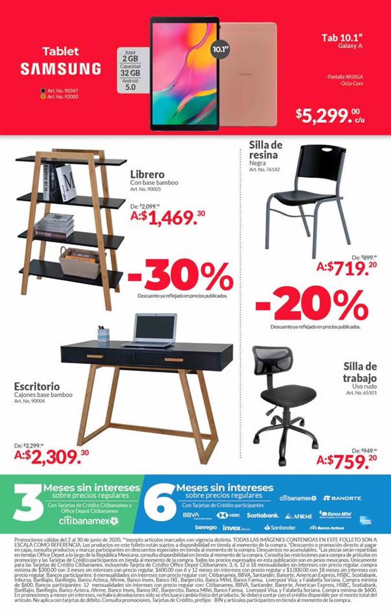 Office Depot Folleto - 02.06-30.06.2020 (Página 16)