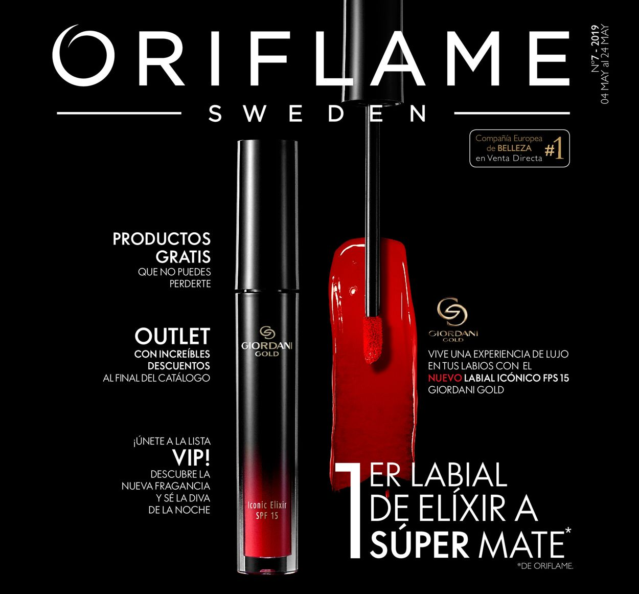Oriflame Folleto - 04.05-24.05.2019