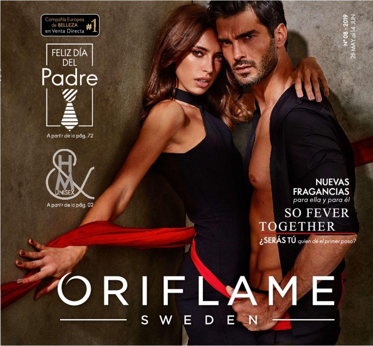 Oriflame Folleto - 25.05-14.06.2019