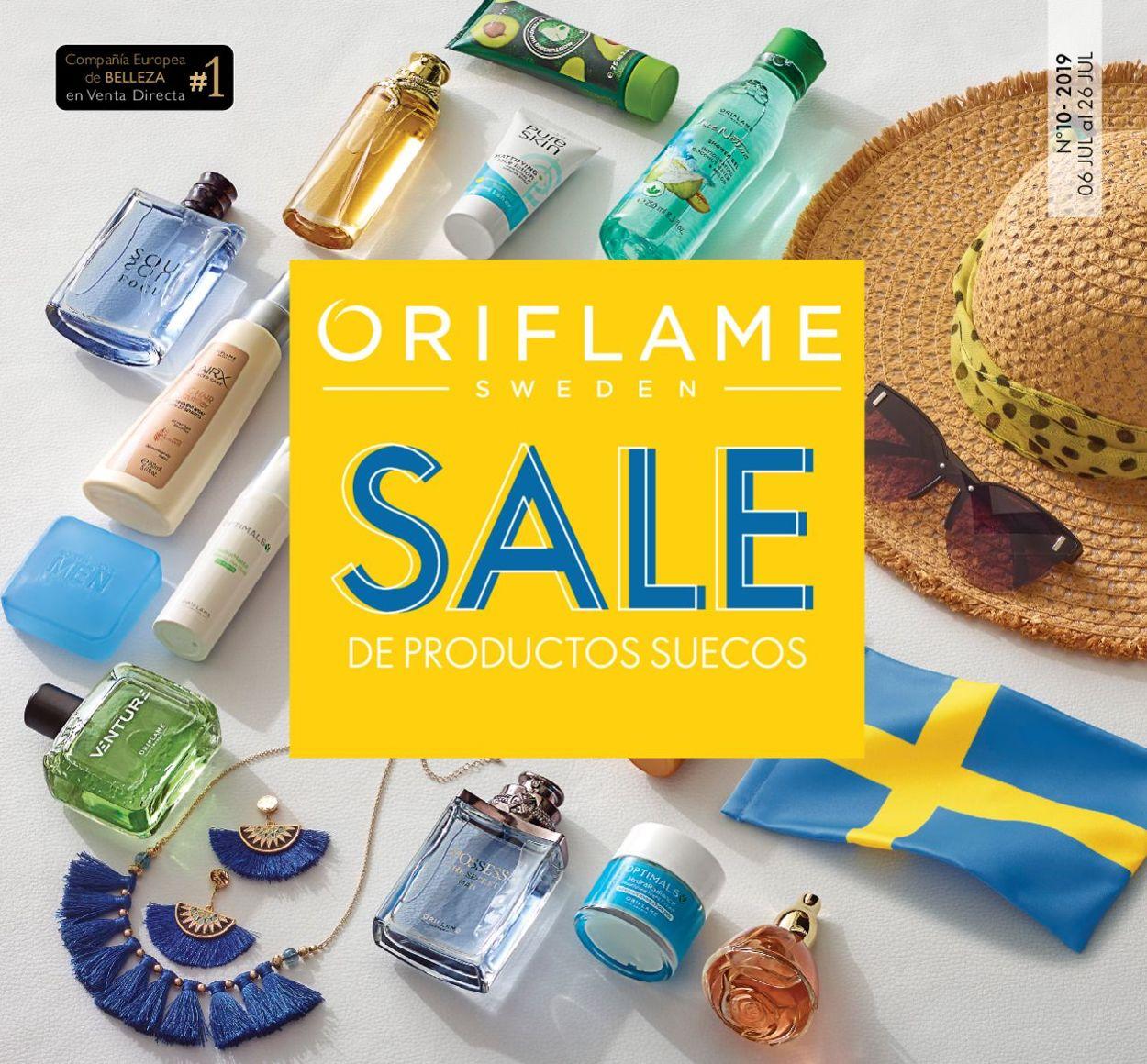 Oriflame Folleto - 06.07-26.07.2019