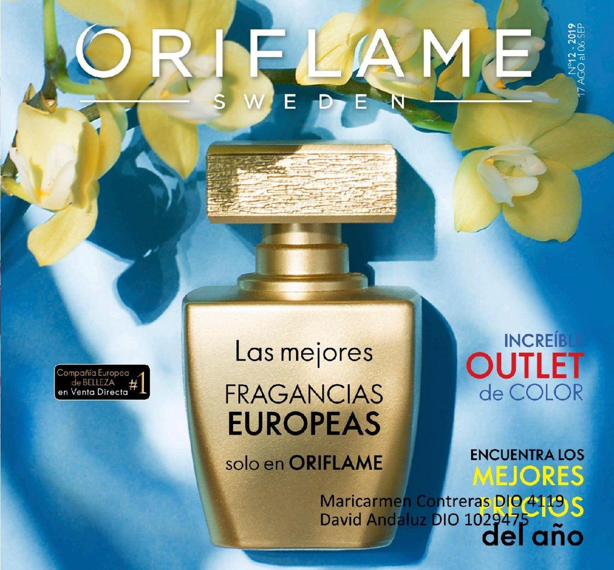 Oriflame Folleto - 17.08-06.09.2019