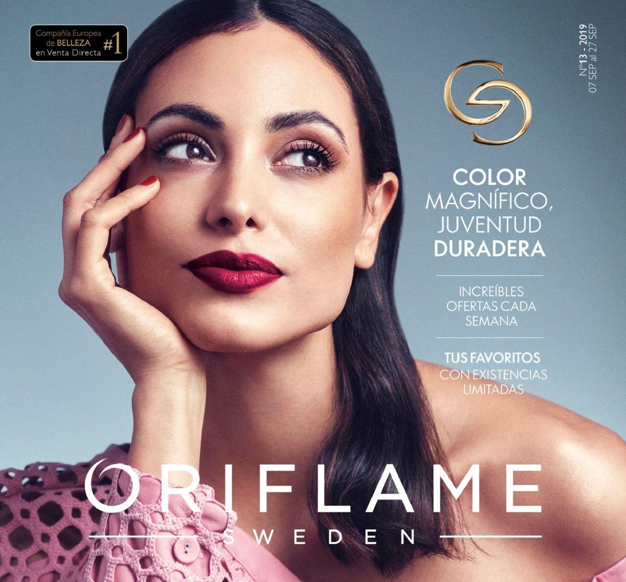Oriflame Folleto - 07.09-27.09.2019