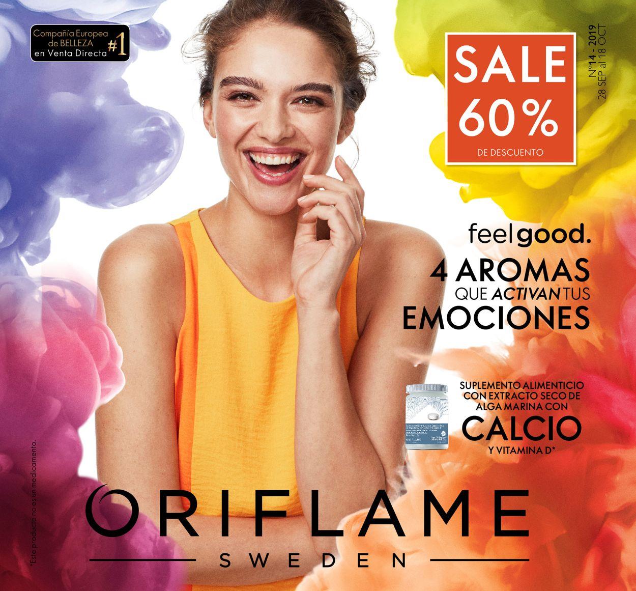 Oriflame Folleto - 28.09-18.10.2019