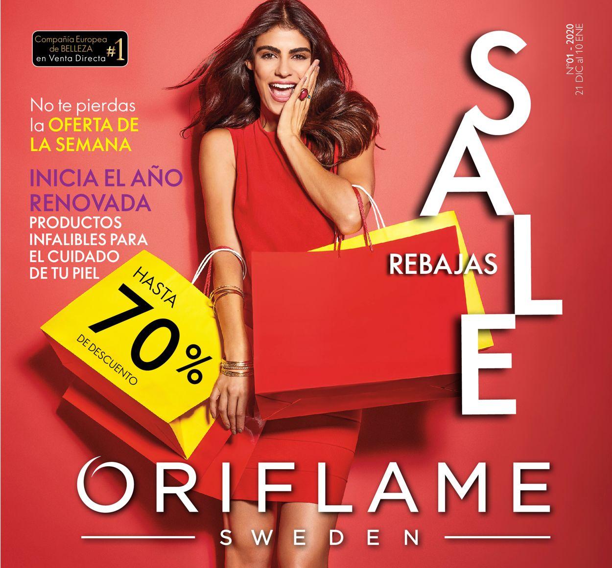 Oriflame Folleto - 21.12-10.01.2020