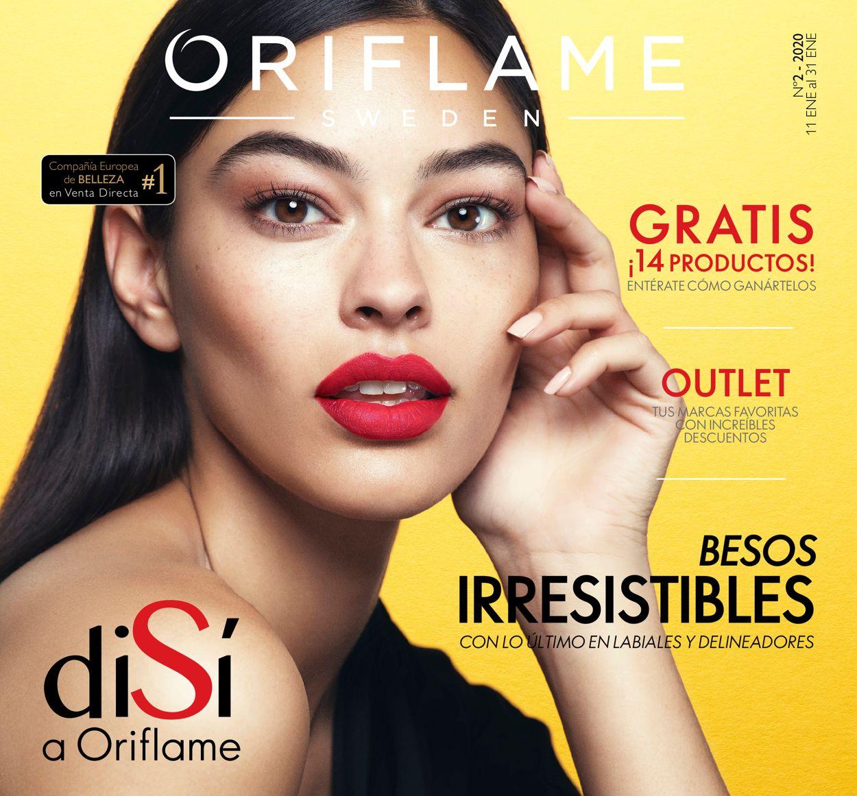 Oriflame Folleto - 11.01-31.01.2020