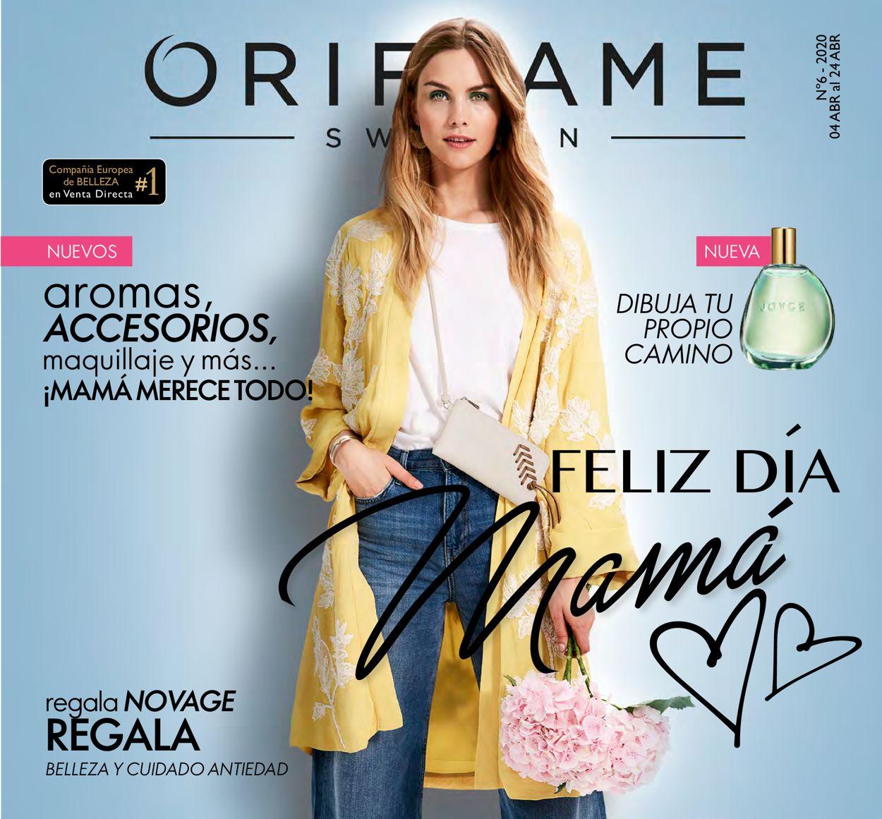 Oriflame Folleto - 04.04-24.04.2020