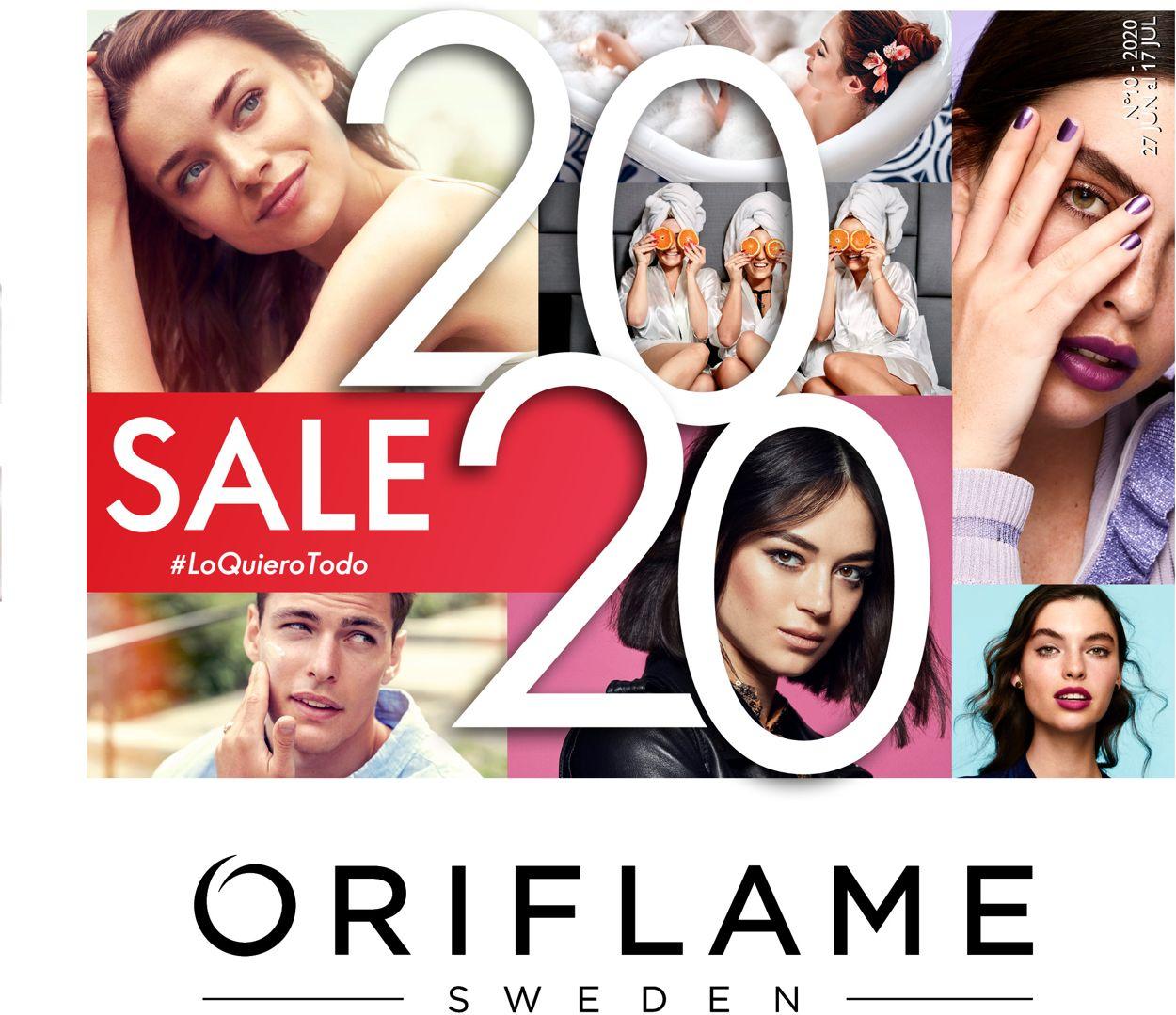 Oriflame Folleto - 27.06-17.07.2020