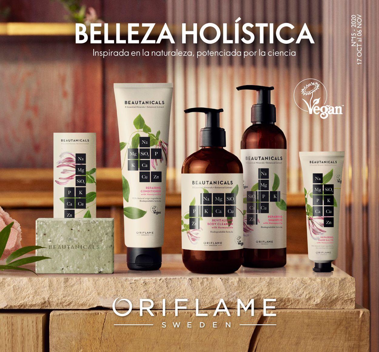 Oriflame Folleto - 17.10-06.11.2020