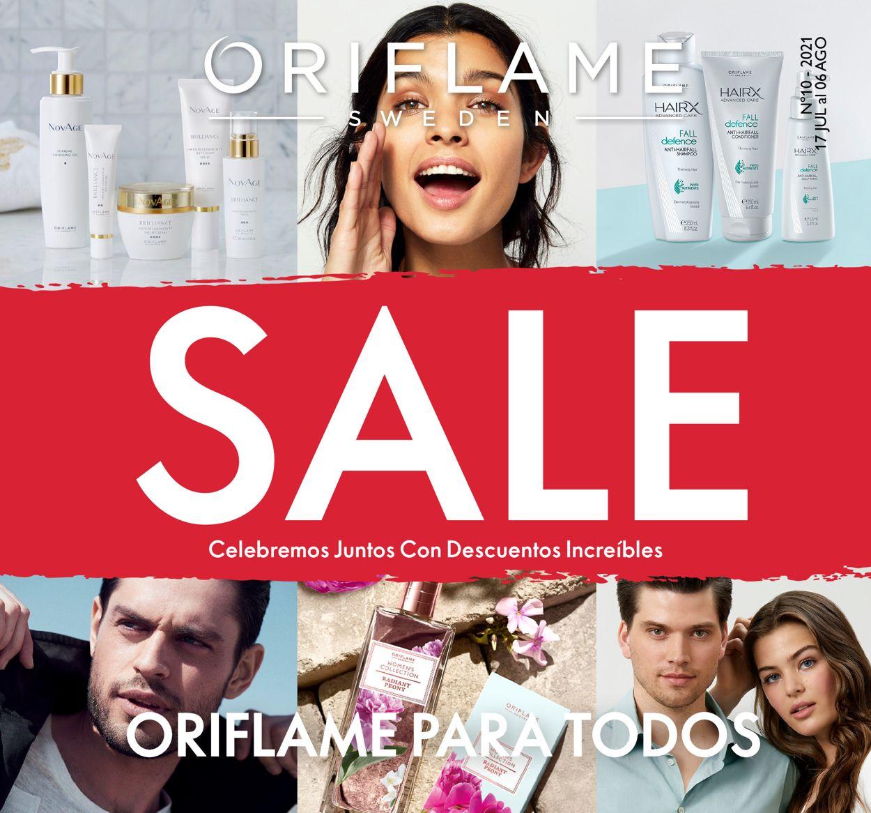 Oriflame Folleto - 17.07-06.08.2021