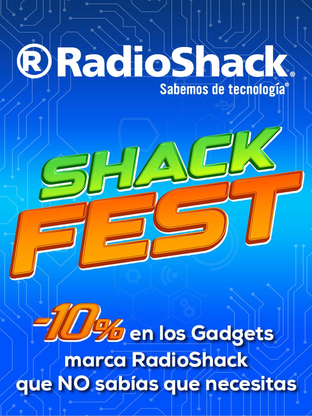 Radio Shack Folleto - 01.10-31.10.2020