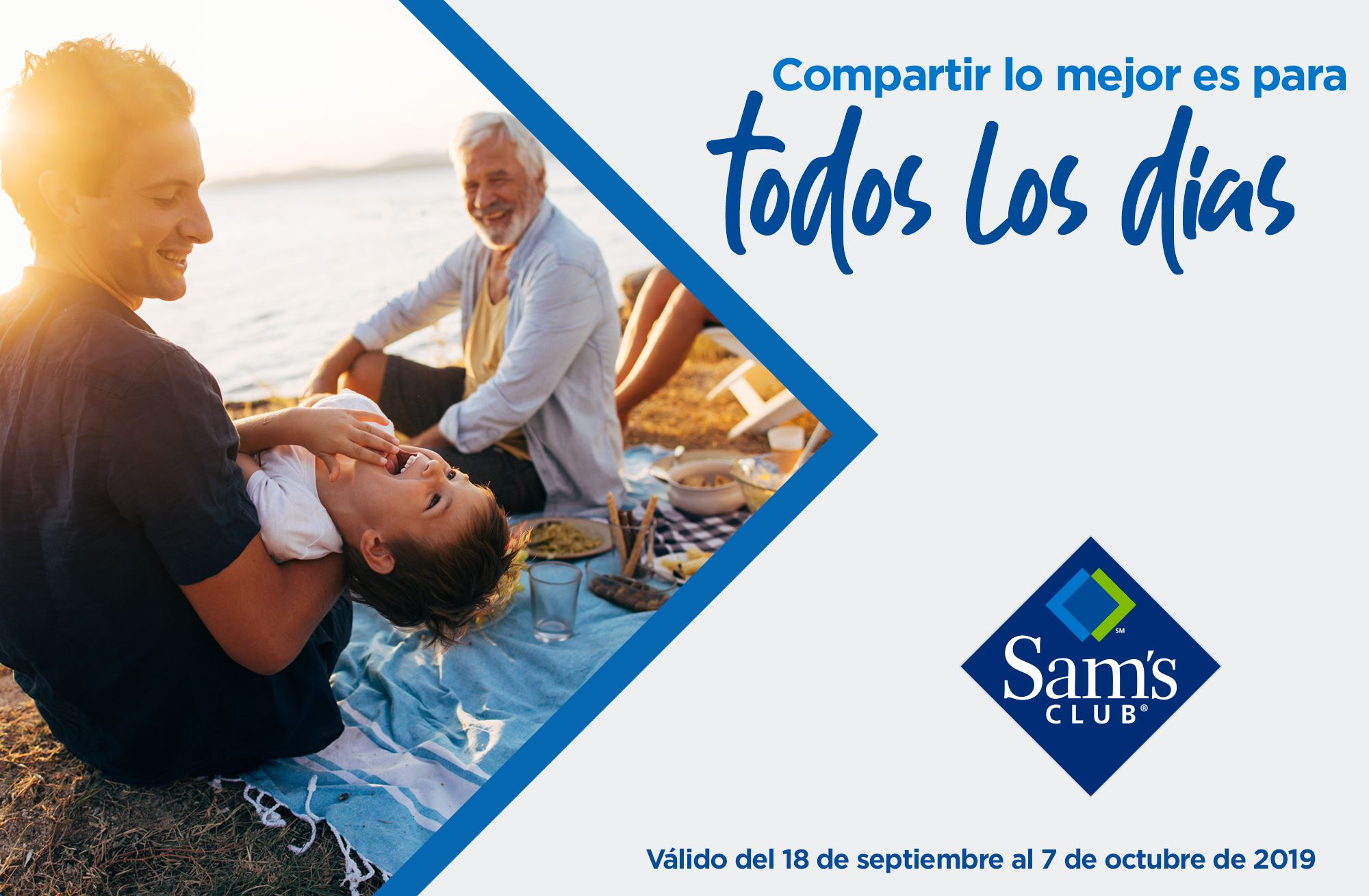 Sam's Club Folleto - 18.09-07.10.2019