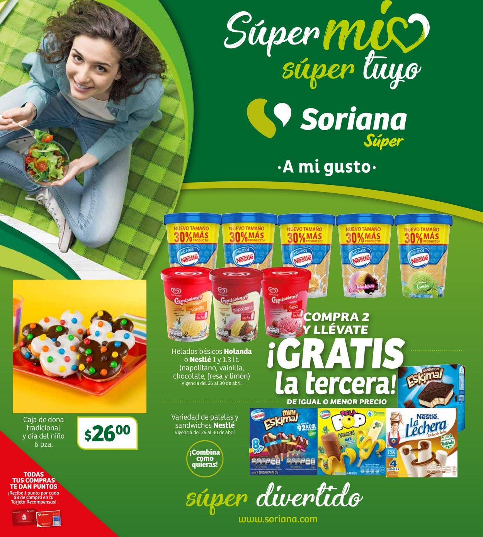 Soriana Folleto - 26.04-02.05.2019
