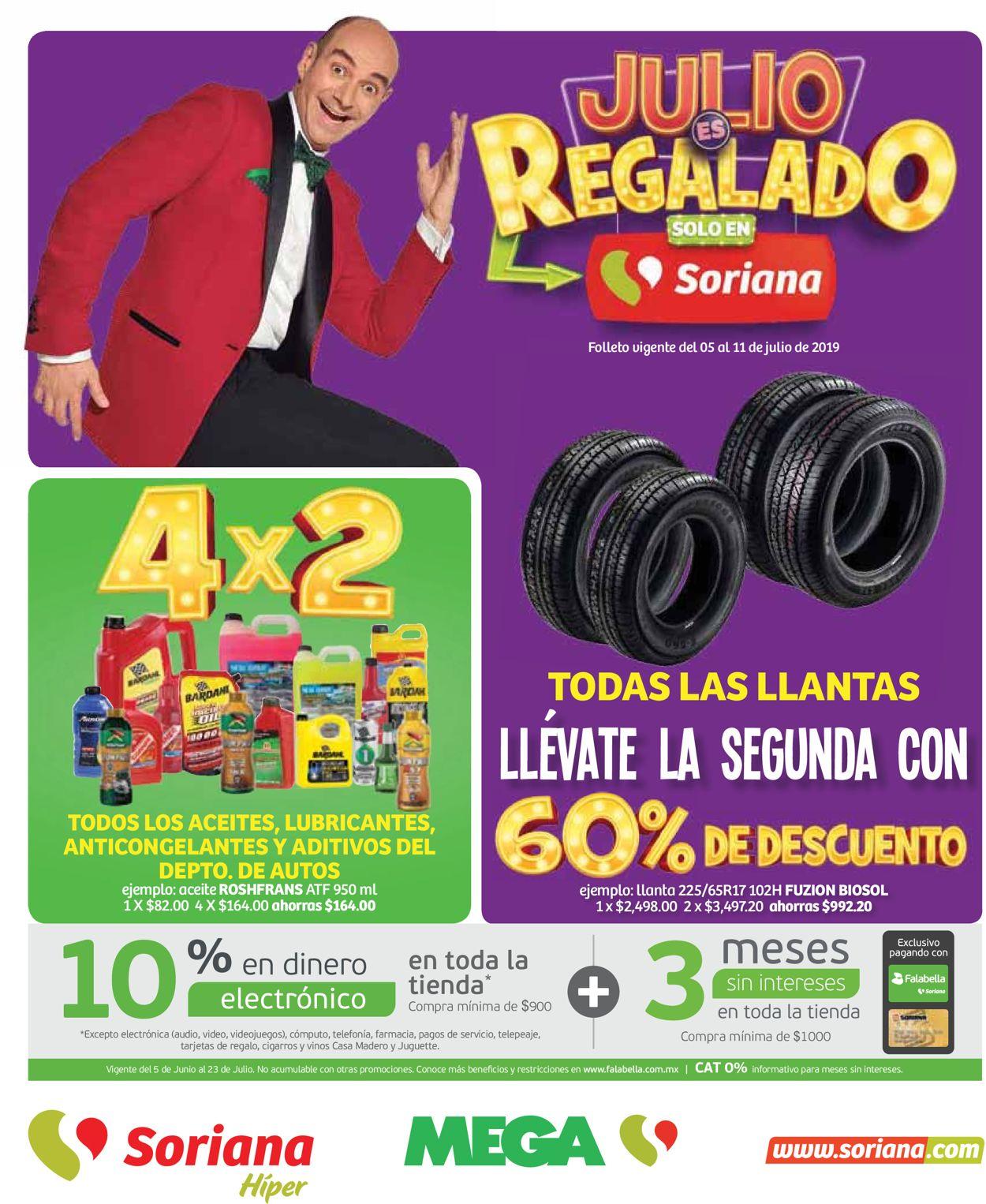 Soriana Folleto - 05.07-11.07.2019