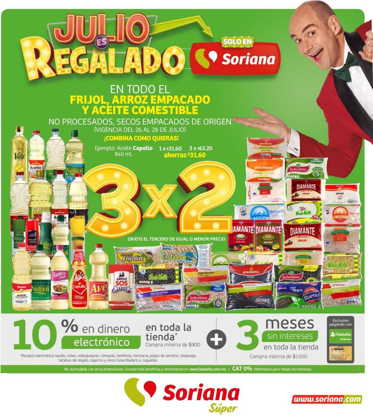 Soriana Folleto - 26.07-01.08.2019