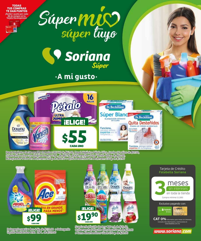 Soriana Folleto - 20.09-26.09.2019