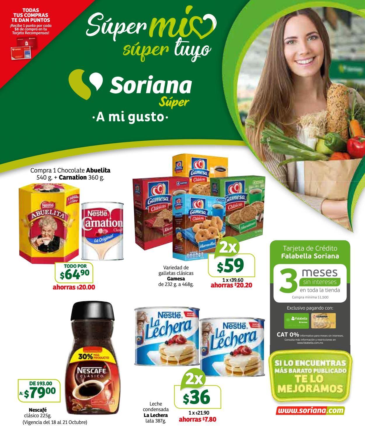 Soriana Folleto - 18.10-24.10.2019