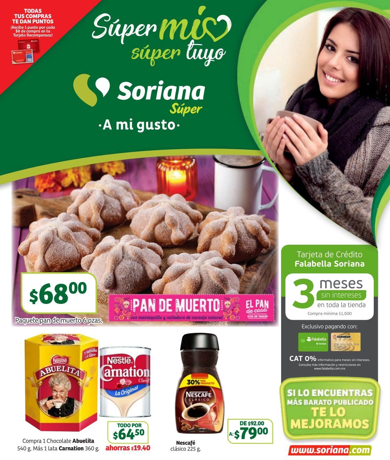 Soriana Folleto - 01.11-07.11.2019