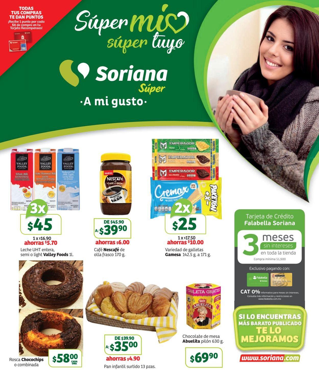 Soriana Folleto - 08.11-14.11.2019