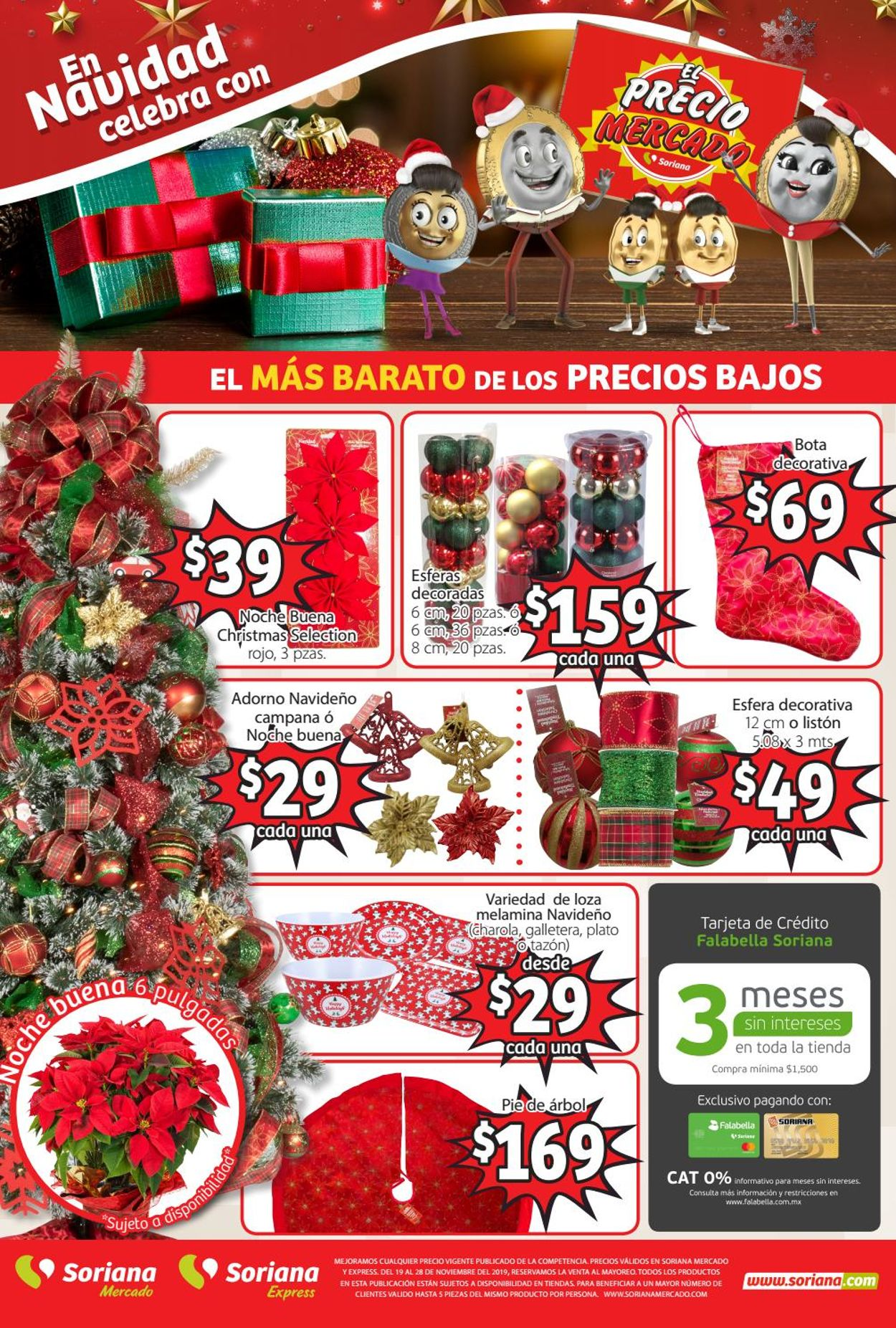 Soriana Catálogo Navideño Folleto - 19.11-28.11.2019