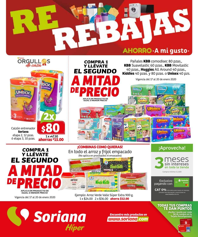Soriana Folleto - 17.01-23.01.2020