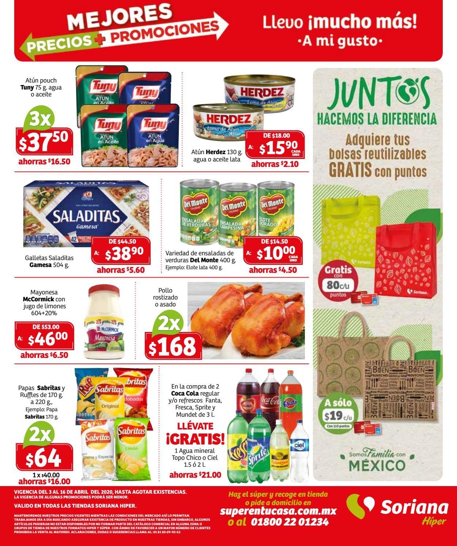 Soriana Folleto - 03.04-16.04.2020 (Página 24)