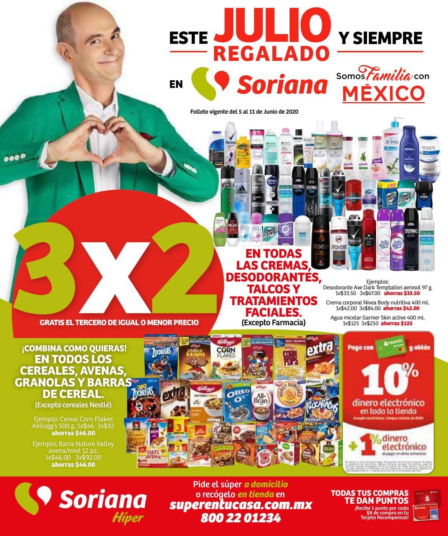 Soriana Folleto - 05.06-11.06.2020