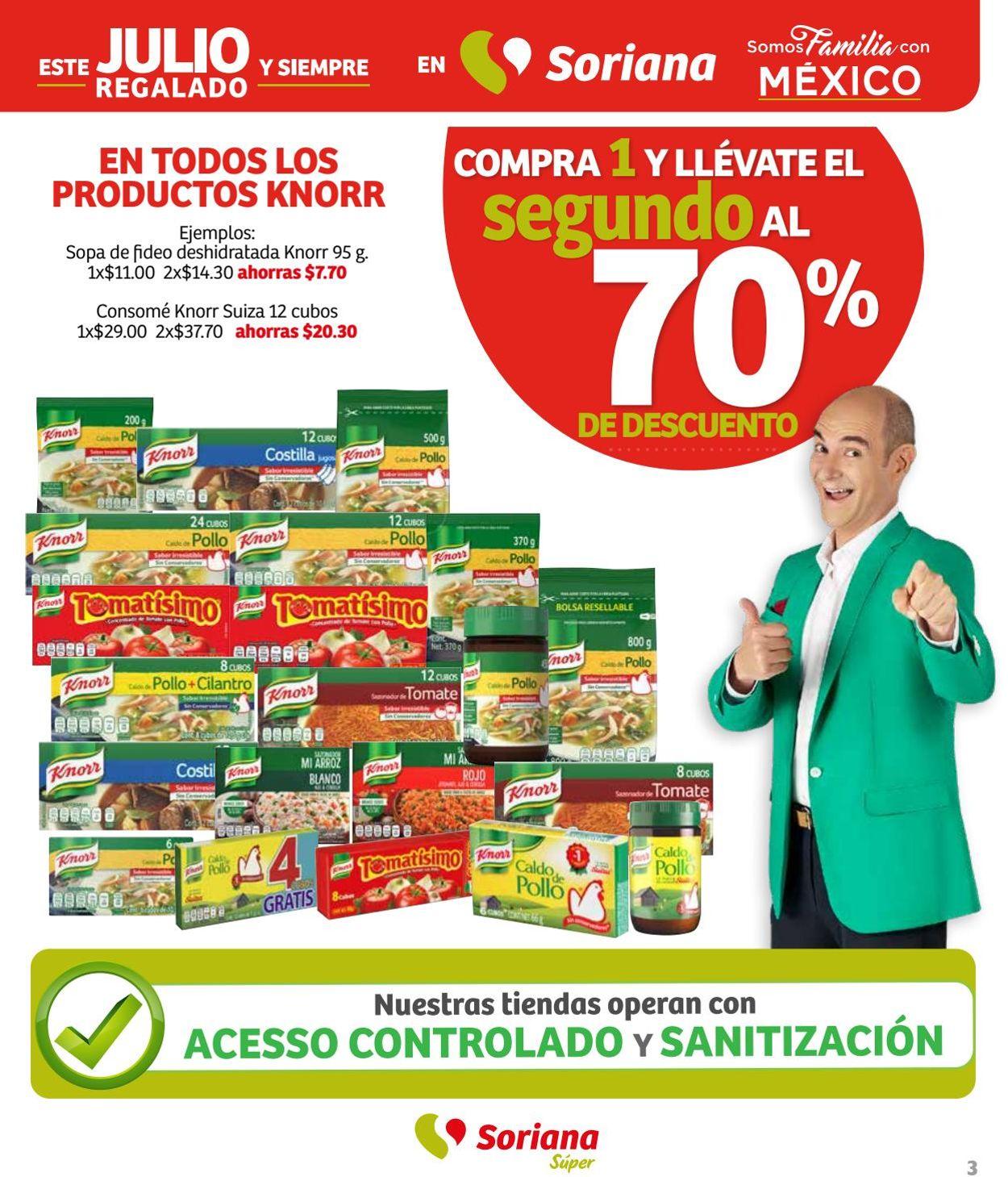Soriana Folleto - 05.06-11.06.2020 (Página 3)