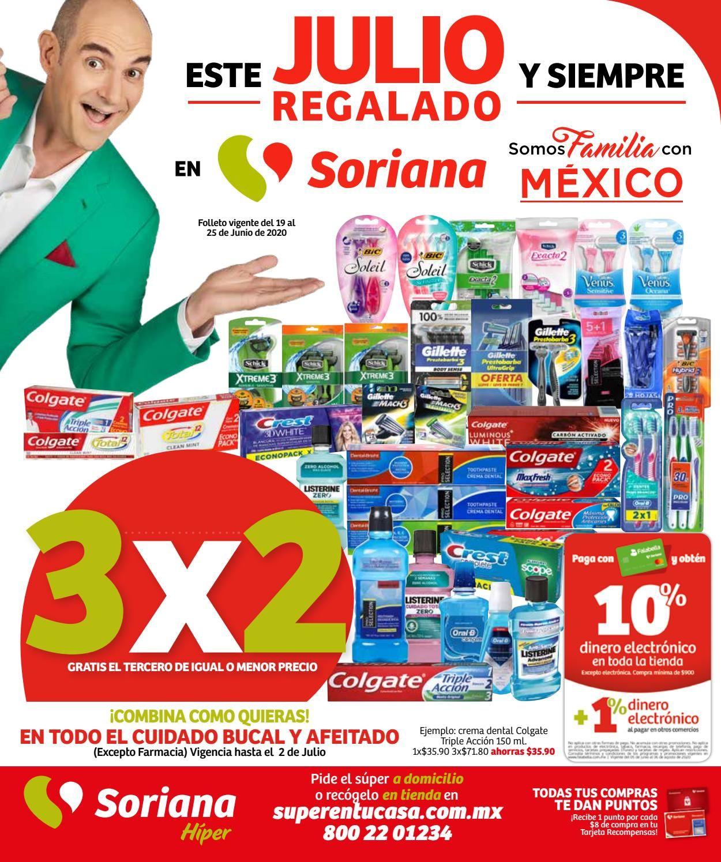 Soriana Folleto - 19.06-25.06.2020