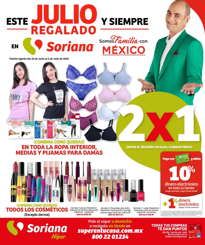 Soriana Folleto - 26.06-02.07.2020