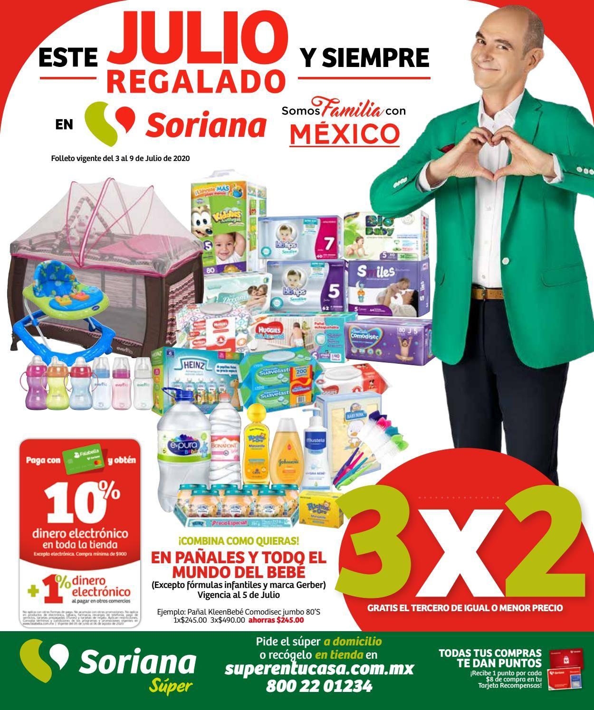 Soriana Folleto - 03.07-09.07.2020