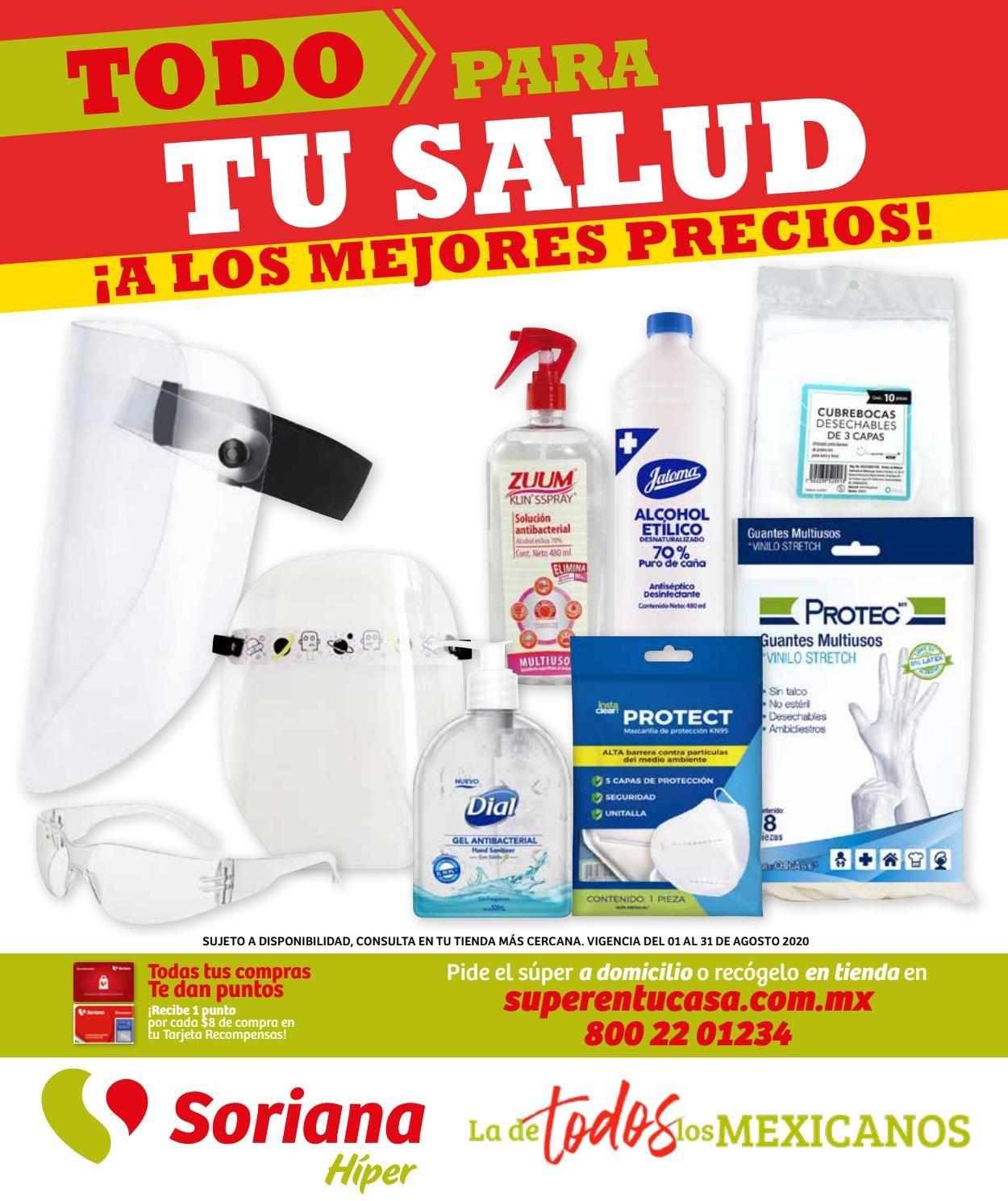 Soriana Folleto - 01.08-31.08.2020