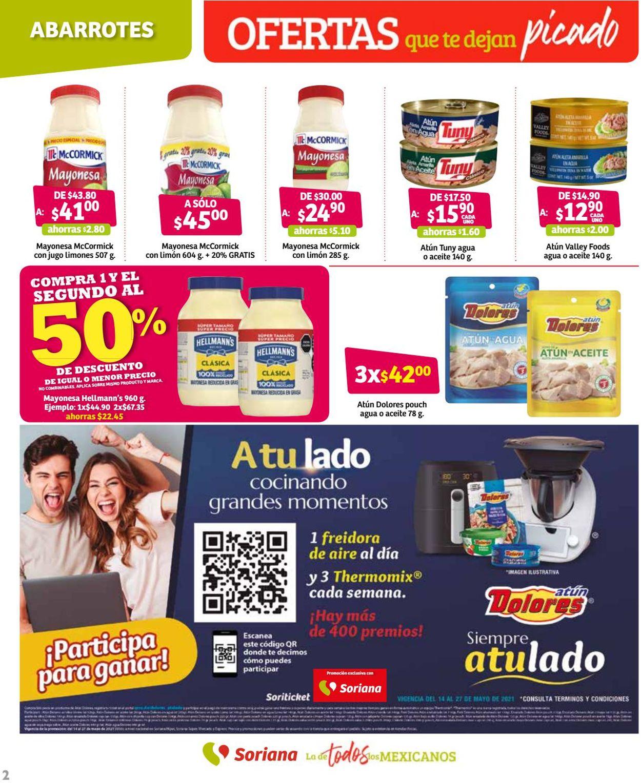 Soriana Folleto - 14.05-27.05.2021 (Página 2)