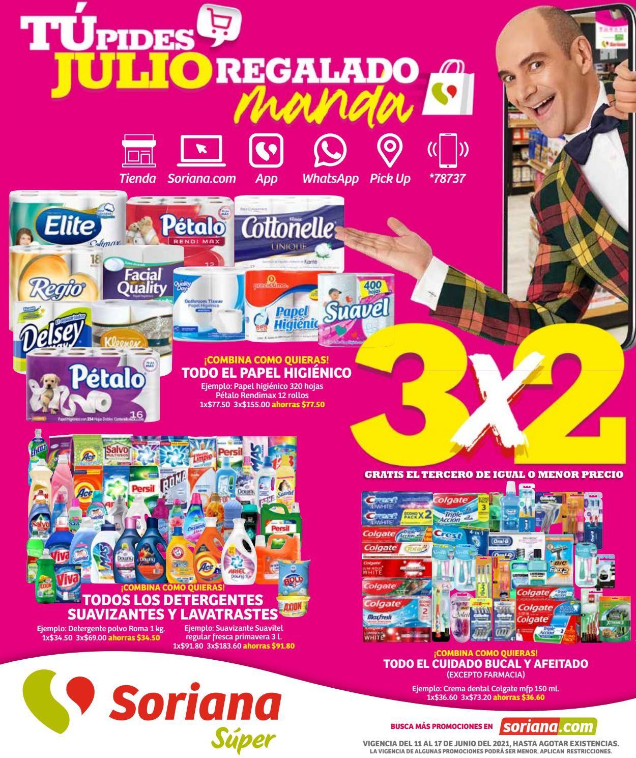 Soriana Folleto - 11.06-17.06.2021