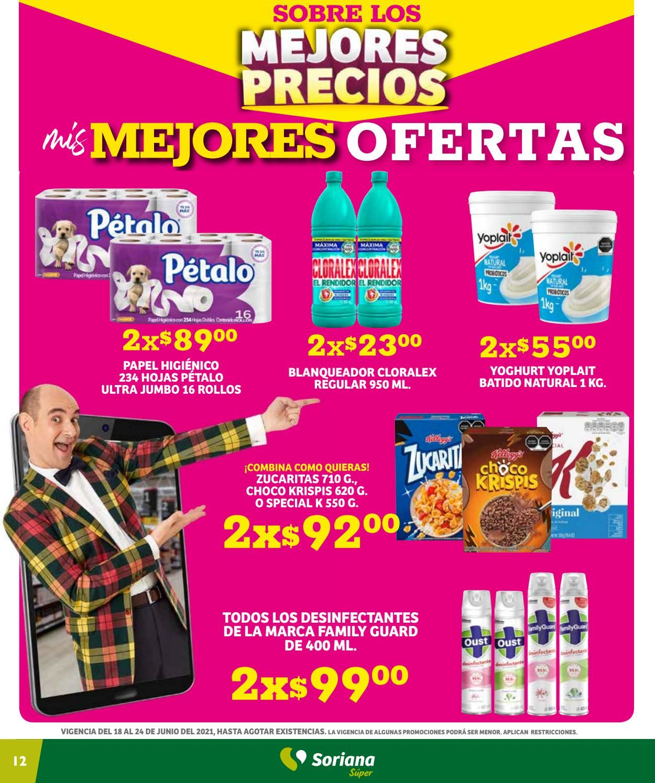 Soriana Folleto - 18.06-24.06.2021 (Página 12)