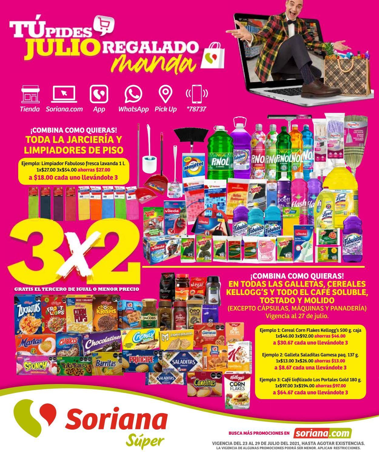Soriana Folleto - 23.07-29.07.2021