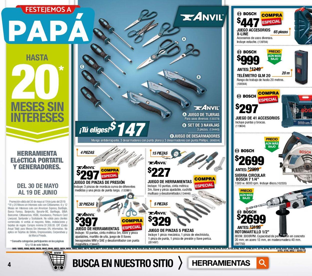 The Home Depot Folleto - 30.05-19.06.2019 (Página 4)