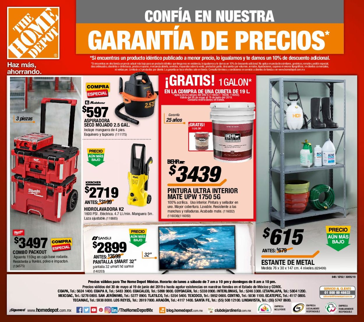 The Home Depot Folleto - 30.05-19.06.2019 (Página 24)