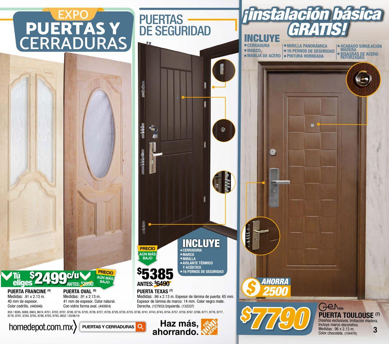 The Home Depot Folleto - 20.06-10.07.2019 (Página 3)
