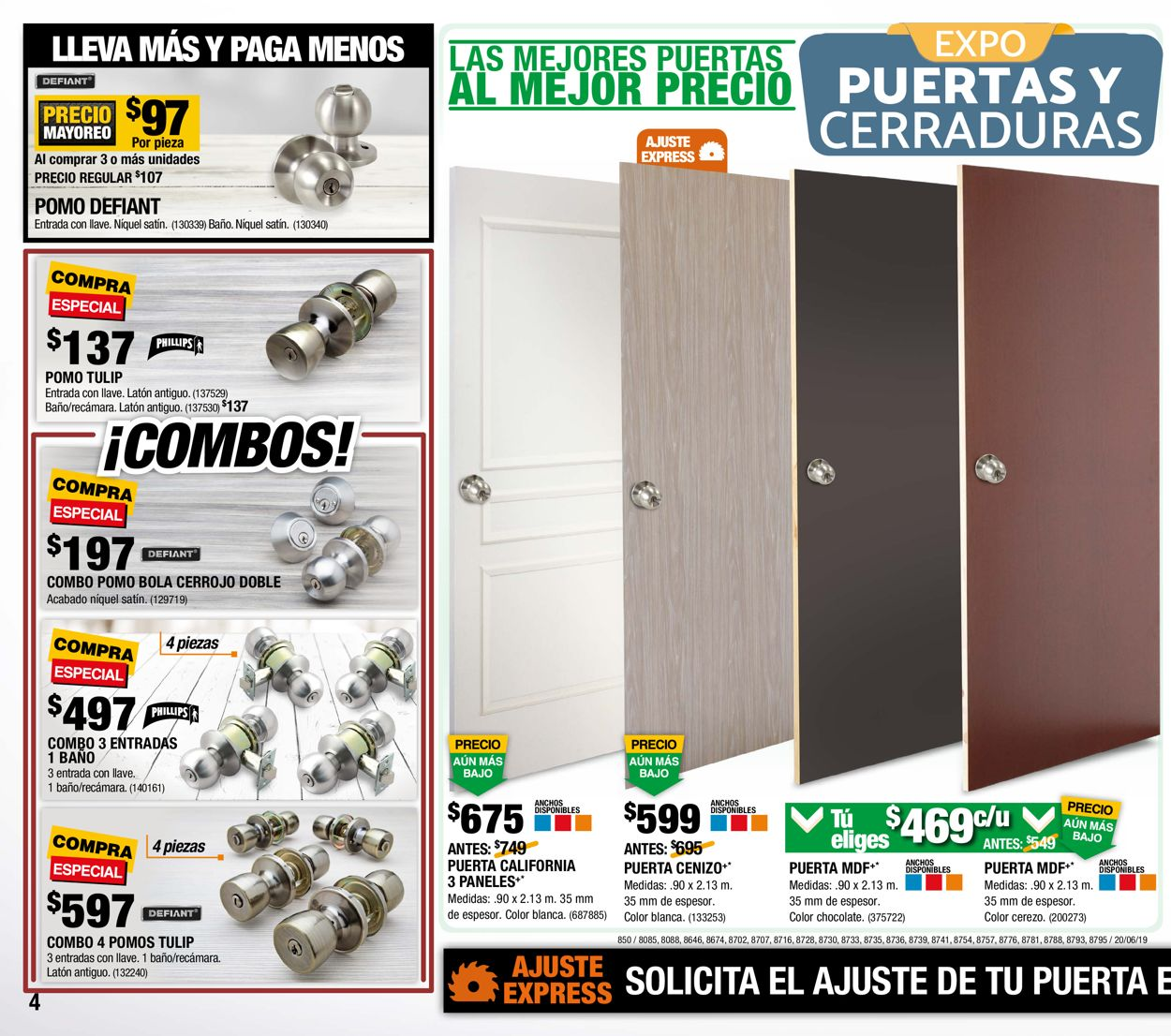 The Home Depot Folleto - 20.06-10.07.2019 (Página 4)