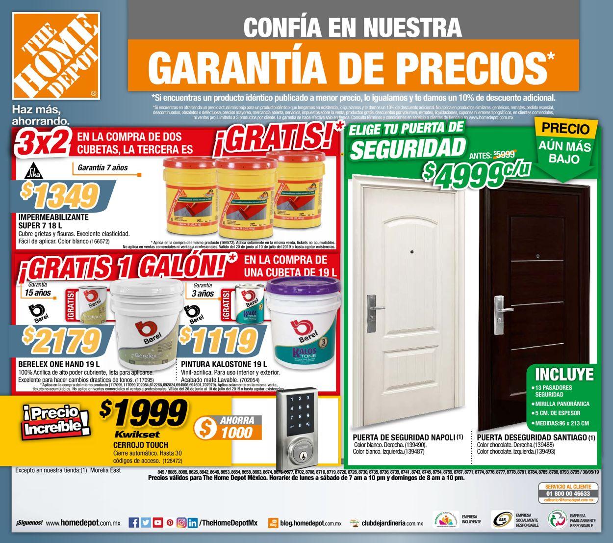 The Home Depot Folleto - 20.06-10.07.2019 (Página 24)