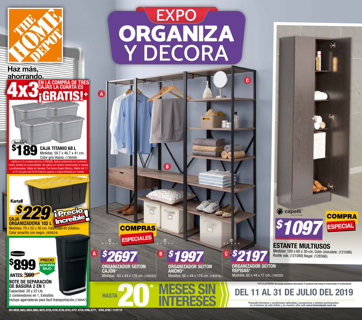 The Home Depot Folleto - 11.07-31.07.2019